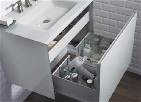 robern sinks a clutter free bathroom solution abode