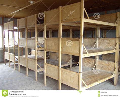 camo bunk beds dachau bunk beds stock photo image 50932443