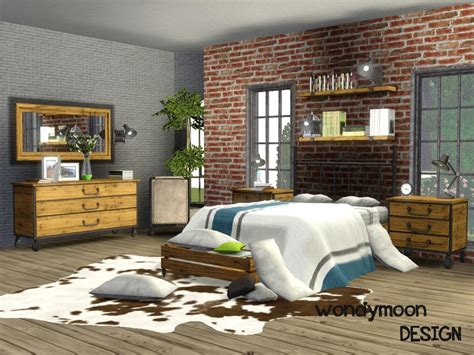 Bedroom Sets For The Sims 3 Wondymoon S Fluorine Bedroom
