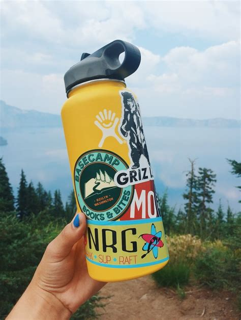 Hydro Flask With Stickers