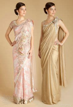 Import Dresses Fashions By Catwalk modern low rise transparent sari with a sleeveless choli