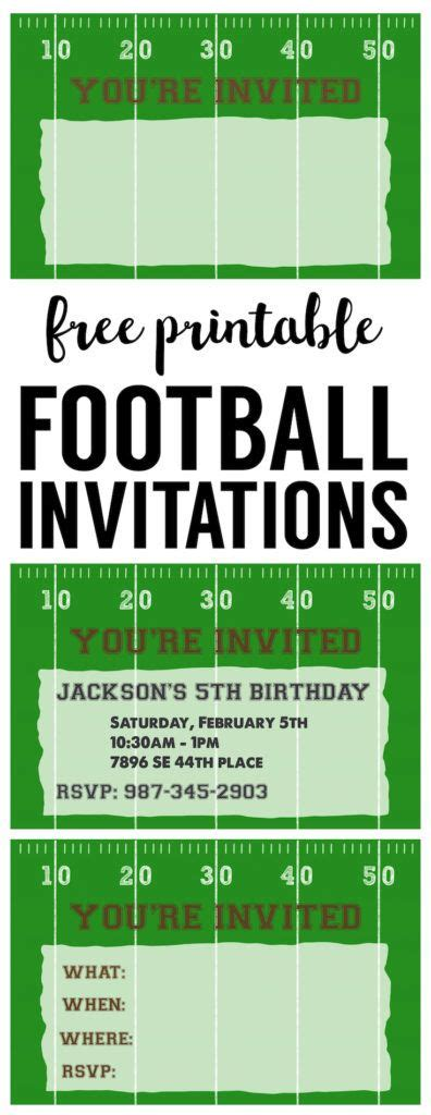Best 25 Party Invitation Templates Ideas On Pinterest Diy Birthday Party Invitation Template Football Baby Shower Invitation Template