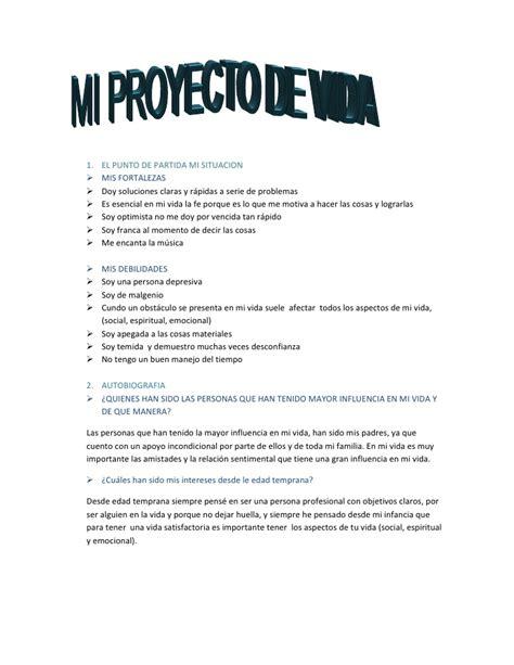 ejemplos de proyectos pedagogicos de aula gratis ensayos mi proyecto de vida sena