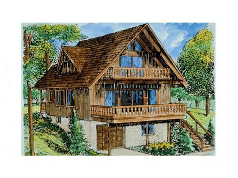 chalet plans eplans chalet house plan three bedroom 1614 square