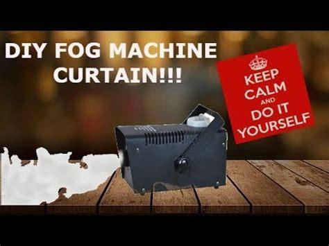 fog curtain home made fog curtain youtube