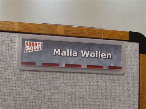 printable name tags for cubicles cubicle signs workstation signs pod nameplates