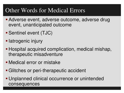 other words for safe ppt patient safety culture of safety and just culture