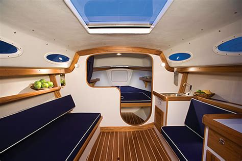 Sailboat Interior Design Ideas by Alerion Express 28 Alerion Yachts