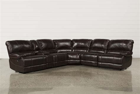 armless sectional pieces payton 6 piece sectional w manual armless recliner