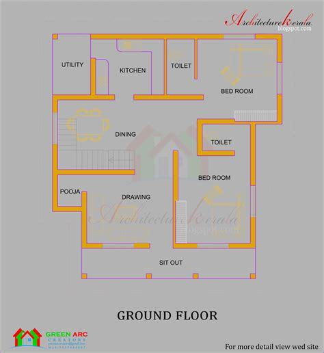 architecture kerala traditional style kerala house plan