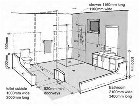 Bathroom Showers Dimensions 25 Best Ideas About Handicap Bathroom On Ada