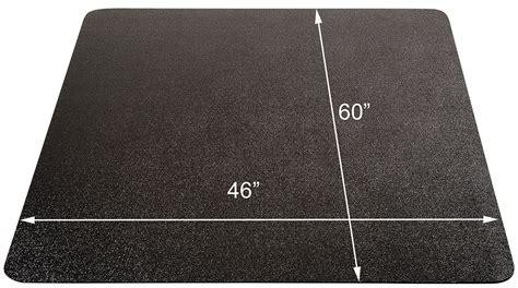 carpet chair mat rectangular 46 x 60 black chair mats for low pile carpets 36 quot x 48