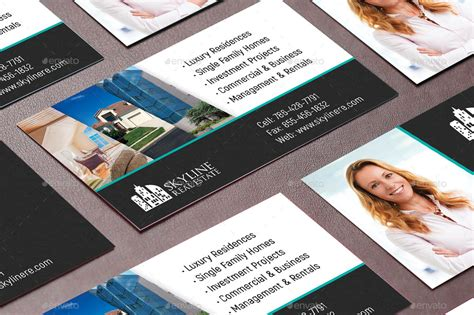 realtor business cards templates real estate business card template by godserv2 graphicriver
