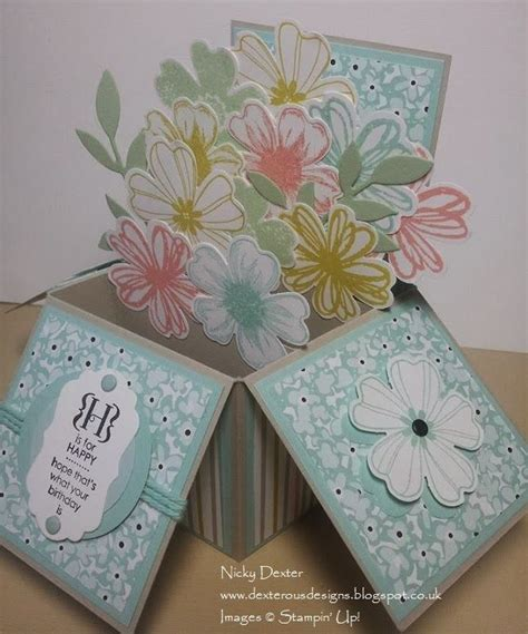 Diy Papercraft Pop Up Card Bunga Pansy 2406 best images about flip it pop up and stand up cards on the pop easels and