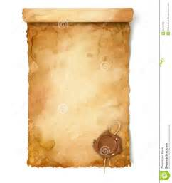 alte le alte papierrolle mit wachssiegel stockbild bild 36279795