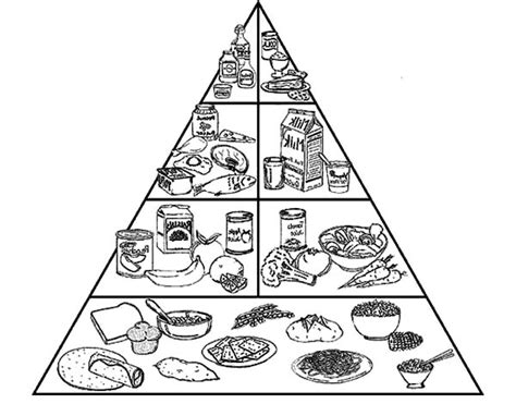 food pyramid coloring page food pyramid coloring pages coloring pages