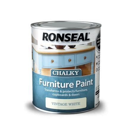 Ronseal Chalky Furniture Paint   Ronseal