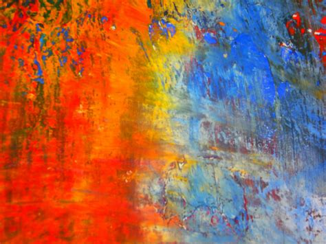 What Is Abstract Painting January 2015 The College Student In Blue