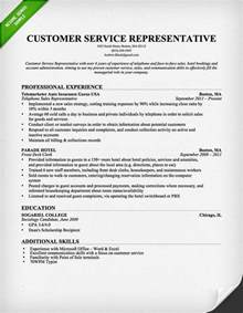 Free Resume Templates For Customer Service Representative by Customer Service Representative Resume Template For Free Downloadable Resume
