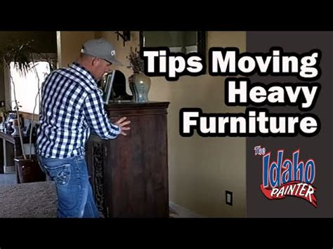 moving heavy furniture using furniture sliders moving