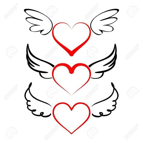 heart wing logo clip art vector clip art online royalty heart and wings clipart clipground
