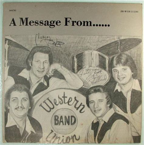 Rock Arkansas Records Western Union Band A Message From Zan Beck Records Rock Arkansas 1981