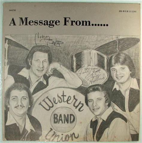 Records Rock Arkansas Western Union Band A Message From Zan Beck Records Rock Arkansas 1981