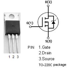 fungsi transistor irf540n transistor mosfet irf840 28 images irf840 transistor n mosfet 500v 8a 125w to220ab ebay