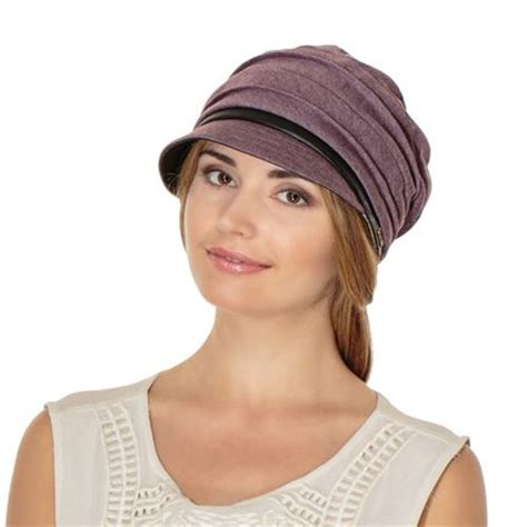 cute hats for women with thinning crown cute and feminine jersey cadet hat with pleated details