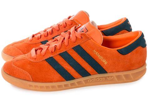 adidas hamburg og orange chaussures homme chausport