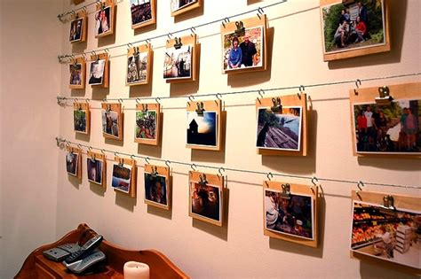 photo display clips creative vacation photo displays family photos