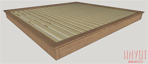 plans for a bed frame how to build a platform bed frame king size vintage