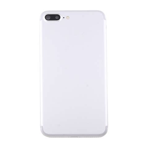 replacement iphone 7 plus battery back cover assembly with card tray silver alexnld