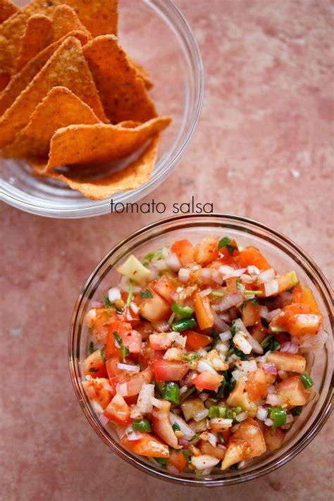 tomato salsa recipe, how to make tomato salsa | tomato recipes G Recipes