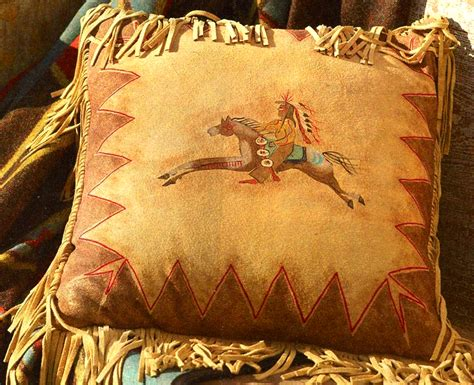 American Made Home Decor by Cayuse Fringed Pillow American Made