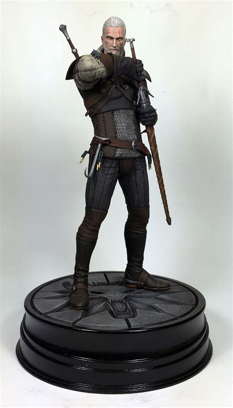 witcher 3 figure the witcher 3 statues figures and more announced ign