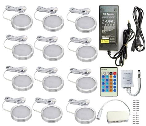 led cabinet lighting 3000k store aoxled 174 led cabinet lighting kit