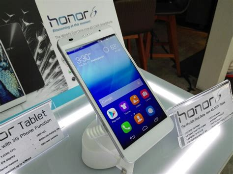 Huawei Honor Tablet Di Malaysia huawei honor 6 now available in malaysia for rm999 with 8 inch honor tablet for rm599 technave
