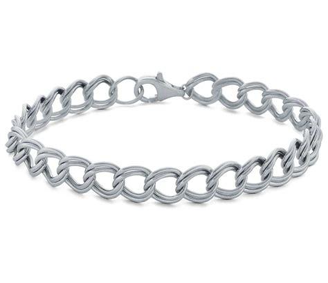 charm bracelet in sterling silver blue nile