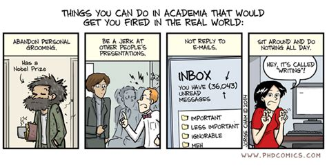 phd comics advisor email phd comics things you can do in academia that would get