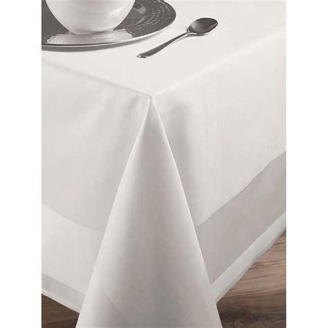nape de table nappe de table carr 233 e rectangle blanc avec bande satin