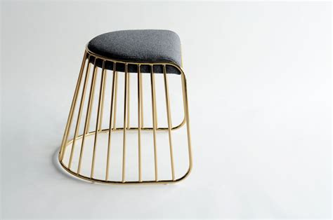 Stool Design by Phase Design Reza Feiz Designer S Veil Low Stool