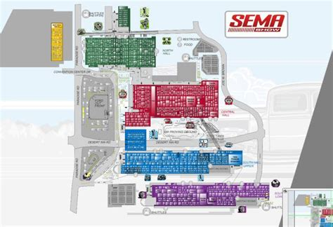 Sema Show Floor Plan | sema 2014 exhibitor list and floor plan product reviews net