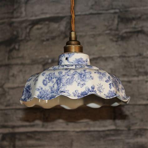 ceramic pendant light avalon imari pattern ceramic pendant light by lyngard