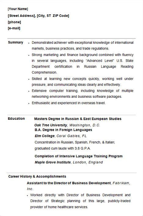 write college admission resume how to write college admission resume
