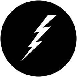 Lightning Symbol Lightning Bolt Apollo Gobo 1151