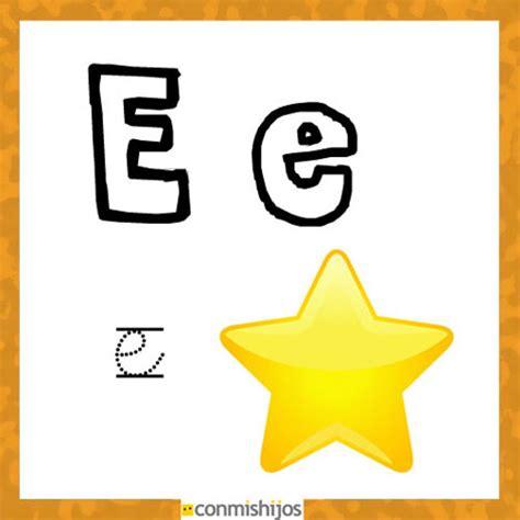 imagenes infantiles que comienzan con la letra i fichas para aprender las letras y colorear letra e