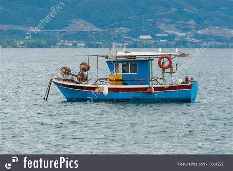 small boat fishing magazine watercraft small fishing boat stock picture i3661227 at