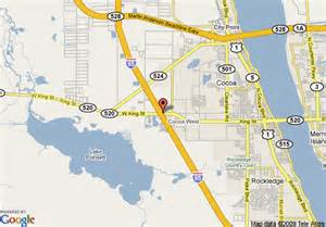 where is cocoa florida on the map map of best western cocoa inn cocoa