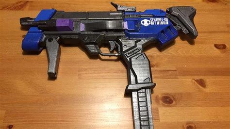 Design Blueprint sombra s machine pistol from overwatch is now a 3d print